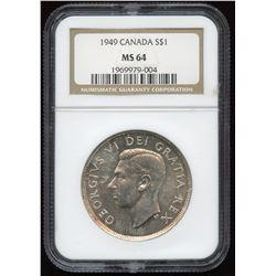 1949 Silver Dollar