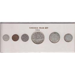 1936 Canada Year Set in Folder