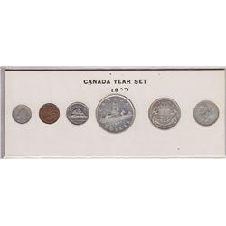 1947 Canada Year Set in Folder