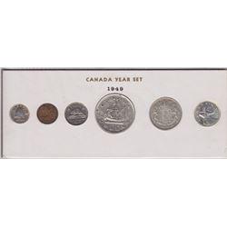 1949 Canada Year Set in Folder