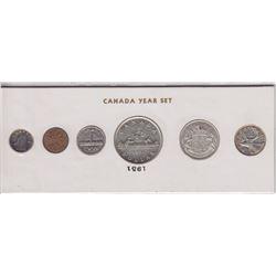 1951 Canada Year Set in Folder