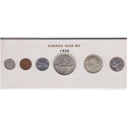 1952 Canada Year Set in Folder