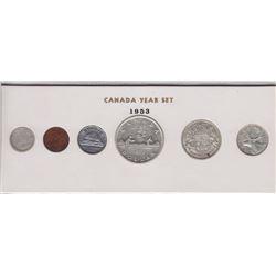 1953 Canada Year Set in Folder