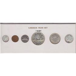 1956 Canada Year Set in Folder