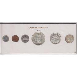 1958 Canada Year Set in Folder