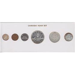 1959 Canada Year Set in Folder