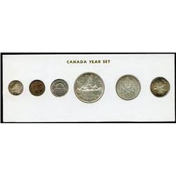 1960 Canada Year Set in Folder