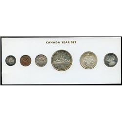 1961 Canada Year Set in Folder