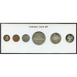 1962 Canada Year Set in Folder
