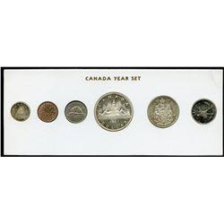 1963 Canada Year Set in Folder