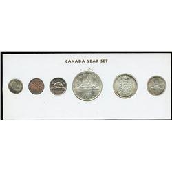 1966 Canada Year Set in Folder