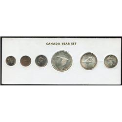 1967 Canada Year Set in Folder