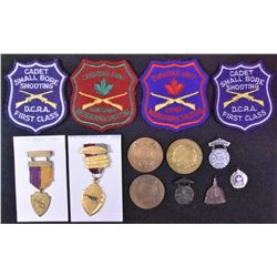Canadian Shooting Medals Lot