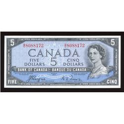 Bank of Canada $5 1954 Devil's Face