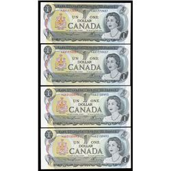 Bank of Canada $1, 1973 Replacement Notes