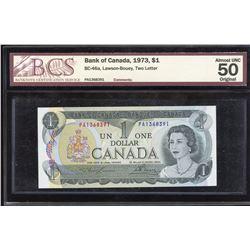 Bank of Canada $1, 1973 - PA Prefix