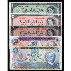 Bank of Canada Replacement Lot of 16 Notes