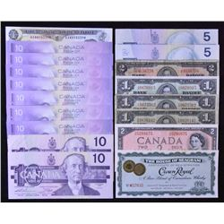 Bank of Canada & Scrip Potpourri