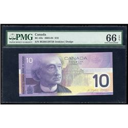 Bank of Canada $10, 2003/2004