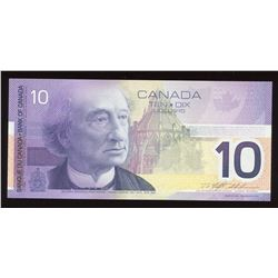 Bank of Canada $10, 2004 - Changeover Note