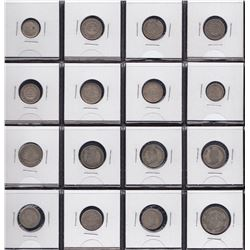 Bolivia - Lot of 16 Coins