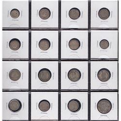 Bolivia - Lot of 16 Coins