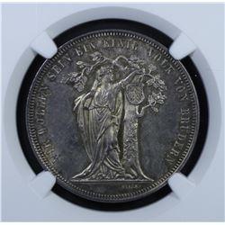Germany - Franz Joseph I Taler 1868
