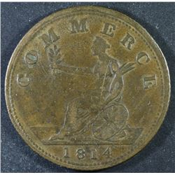 Great Britain/Britain Half Penny Tokens, 1814