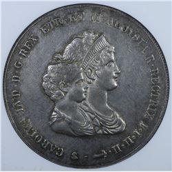 Italy - Tuscany. Carlo Luigi & Maria Louisa 10 Lire 1807