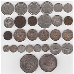 Miscellaneous World Lot of 28 Coins