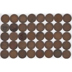Canada Large Cent 1916 - Lot of 40