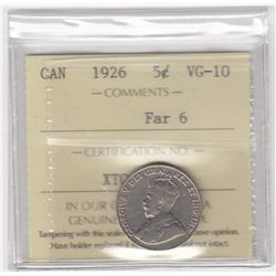 Canada 1926 Five Cents