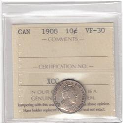 Canada 1908 Ten Cents