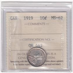 Canada 1919 Ten Cents