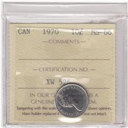 Canada 1970 Ten Cents