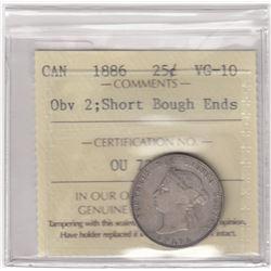 Canada 1886 Twenty-Five Cents