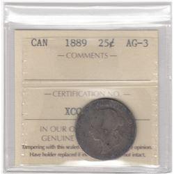 Canada 1889 Twenty-Five Cents