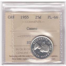 Canada 1955 Twenty-Five Cents