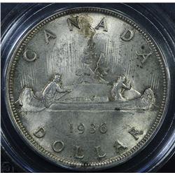 Canada 1936 Dollar