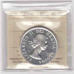 Canada 1956 Silver Dollar