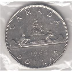 Canada 1968 Nickel Dollars Lot of 2