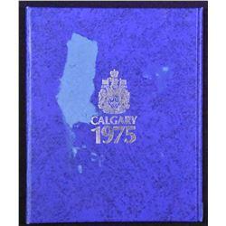 Canada - Calgary Silver Dollar Autographed Folder
