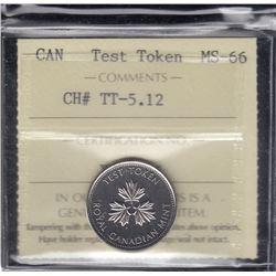 Canada Test Token - CH# TT-5.12