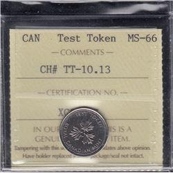 Canada Test Token - CH# TT-10.13