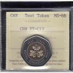 Canada Test Token - CH# TT-C17