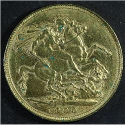 Australia Sovereign, 1900