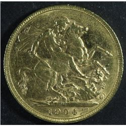 Australia Sovereign, 1904