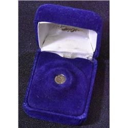South Africa Krugerrand 14kt Gold Mini Coin in Case