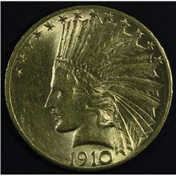 USA $10 Indian Head, 1910 S