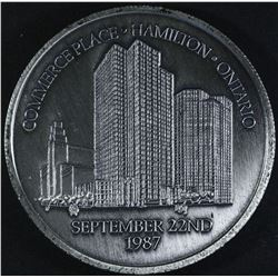 Canadian Bank of Commerce Medal, 1987